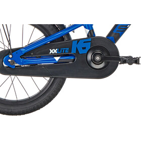 s'cool XXlite 16 alloy Kinder blue/black matt